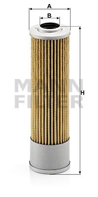 MANN-FILTER Filter, hydrauliek (H 614/3)