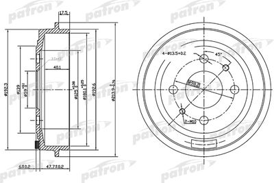 PATRON PDR1045