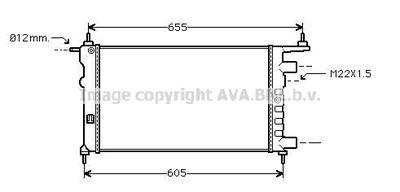 AVA QUALITY COOLING Radiateur (OLA2261)