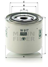 MANN-FILTER Hydraulische filter, automatische transmissie (W 917)