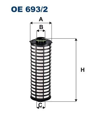 FILTRON Oliefilter (OE 693/2)