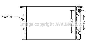 AVA QUALITY COOLING Radiateur (VNA2104)