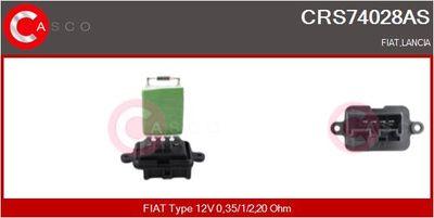 CASCO Weerstand, interieurventilator (CRS74028AS)