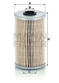 MANN-FILTER Brandstoffilter (P 726 x)