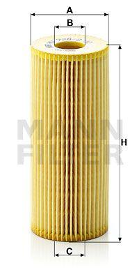 MANN-FILTER Oliefilter (HU 726/2 x)