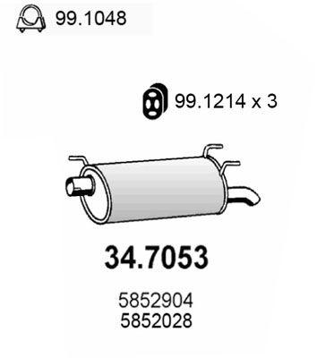 ASSO Einddemper (34.7053)