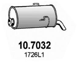 ASSO Einddemper (10.7032)