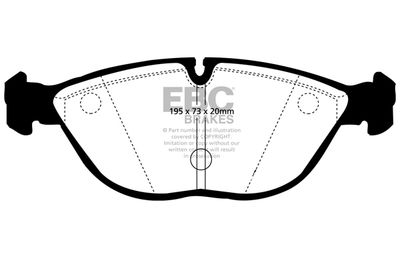 EBC Brakes DP41035R