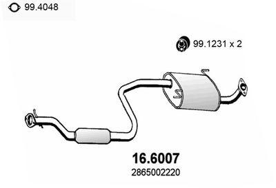 ASSO Middendemper (16.6007)