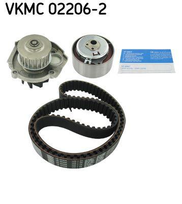 SKF Waterpomp + distributieriem set (VKMC 02206-2)