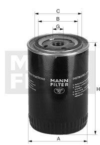 MANN-FILTER Oliefilter (WP 1170)