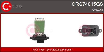 CASCO Weerstand, interieurventilator (CRS74015GS)