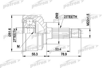 PATRON PCV1086