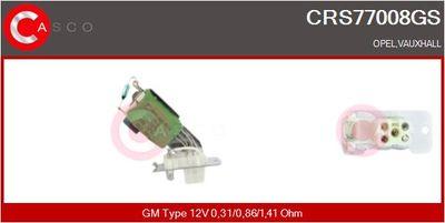 CASCO Weerstand, interieurventilator (CRS77008GS)