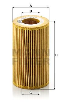 MANN-FILTER Oliefilter (HU 7010 z)