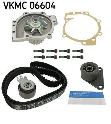 SKF Waterpomp + distributieriem set (VKMC 06604)