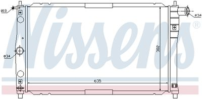 NISSENS 61654