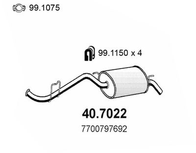 ASSO Einddemper (40.7022)