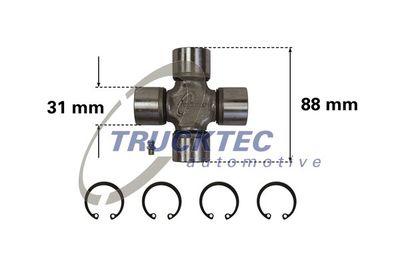 TRUCKTEC AUTOMOTIVE Askoppeling aandrijfas (02.34.012)