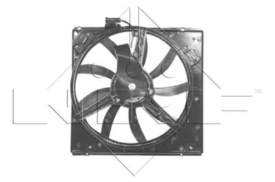 NRF Koelventilatorwiel (47052)
