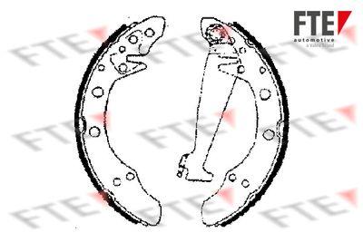 комплект спирачна челюст