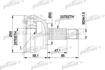 PATRON PCV1032