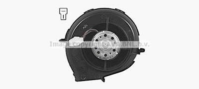 AVA QUALITY COOLING Elektrische motor, Interieurventilatie (AI8448)