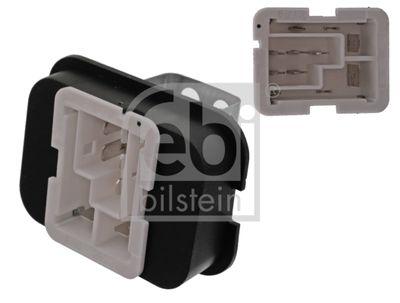 FEBI BILSTEIN Weerstand, interieurventilator febi Plus (100048)