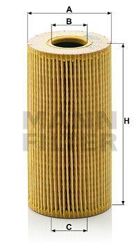 MANN-FILTER Oliefilter (HU 618 x)