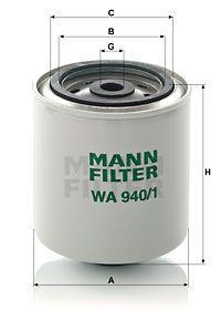 MANN-FILTER WA 940/1