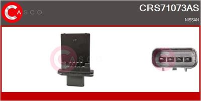 CASCO Weerstand, interieurventilator (CRS71073AS)