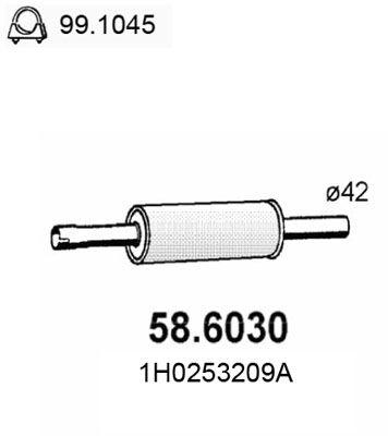 ASSO Middendemper (58.6030)