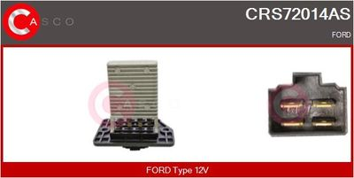 CASCO Weerstand, interieurventilator (CRS72014AS)
