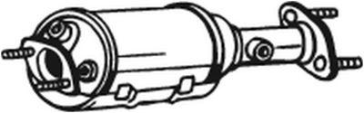 BOSAL Roetfilter, uitlaatinstallatie (097-214)