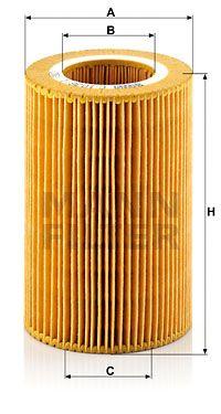 MANN-FILTER C 1036/1