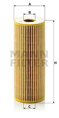 MANN-FILTER Oliefilter (HU 727/1 x)