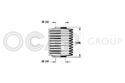 OCAP Stuurhoes, besturing (1211109)