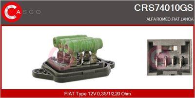 CASCO Weerstand, interieurventilator (CRS74010GS)