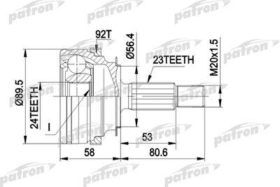 PATRON PCV1108