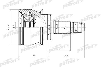 PATRON PCV1480