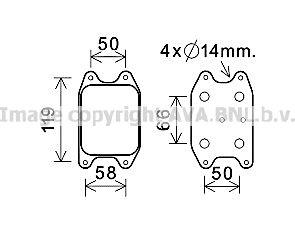 маслен радиатор, двигателно масло