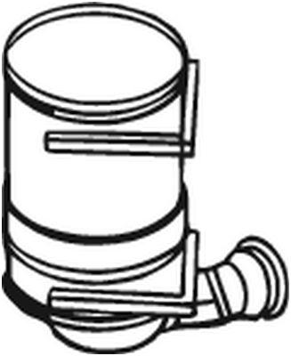 BOSAL Roetfilter, uitlaatinstallatie (097-120)