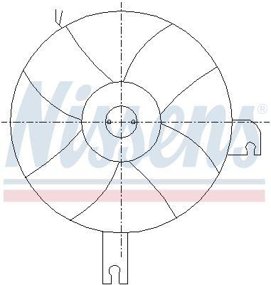 NISSENS Koelventilatorwiel (85096)