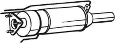 BOSAL Roetfilter, uitlaatinstallatie (097-205)