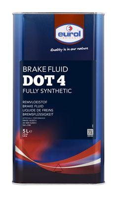 EUROL Remvloeistof Eurol Brake Fluid DOT 4 (E801400-5L BLIK)
