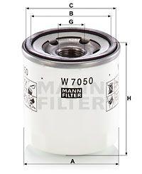MANN-FILTER Oliefilter (W 7050)