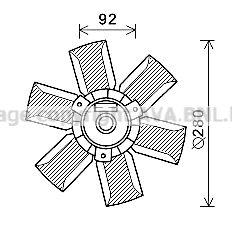 AVA QUALITY COOLING Koelventilatorwiel (SA7023)