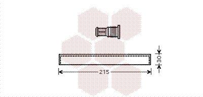 VAN WEZEL Droger, airconditioning (5300D416)