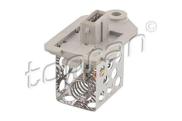 Prerezistorius, el. variklio radiatoriaus ventiliatorius